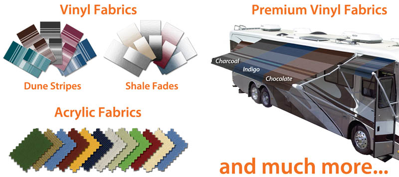 Your RV Awning Fabric Choice The Case For Acrylic Fabrics
