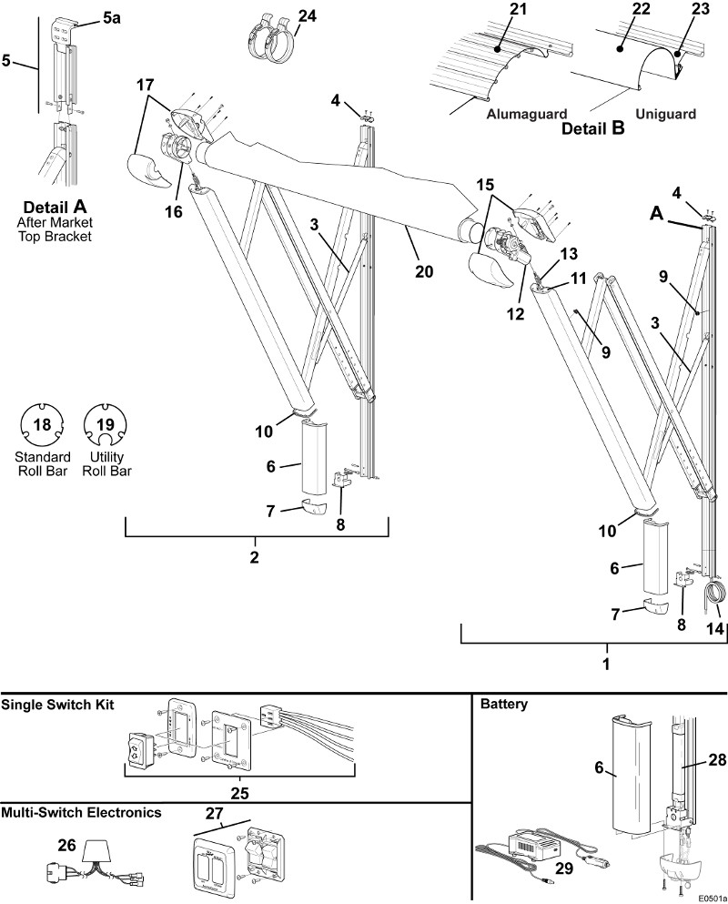 Carefree Awning Switch Wire Diagram 4 Wiring Library