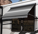 Simply Shade Window Awning with Upgraded Fabric