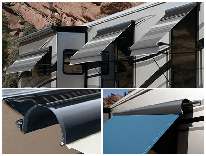 Uniguard Is A Single Piece Aluminum Wrap Designed To Both Protect Your Awning Fabric And Streamline The Look Of When It Closed