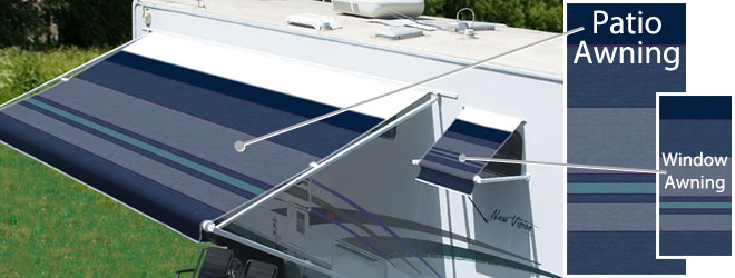 Vinyl Colors For RV Patio Awnings
