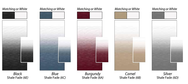 Shale Fades Single Sided Fabric