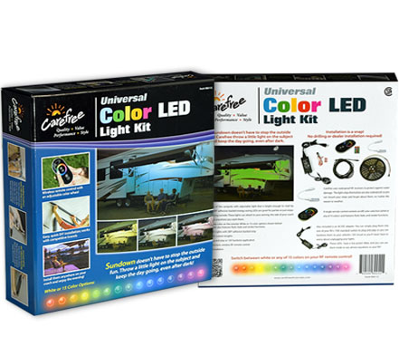 RGB Color LED Lighting Package