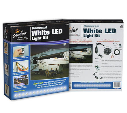 White LED Lighting Packaging